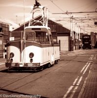 Blackpool Tram by DaveJones-Photograpy