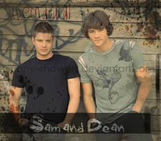 Supernatural - Sam and Dean by Sunny-Showers