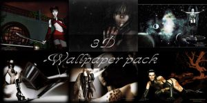 3D wallpaper pack by Drakenborg