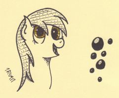 Inky Derpy Hooves by 1rumi1