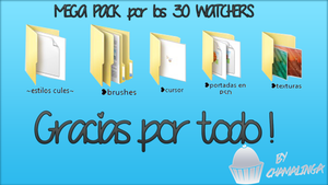 Pack Por Los 30 Whatches by chamalinga