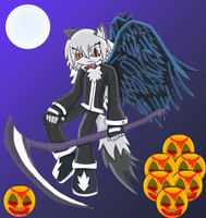 The Angel of Death +Halloween+ by Neos-The-Hedgehog