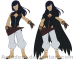 [OC] Crow cloak dude redesign by Amadere