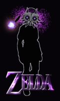 Dark link get the majora's mask by Tinss