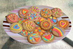 Psychadelic Gingerbread by laurenjay