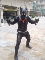 Batman Beyond Cosplay 2nd concept by shanclaw