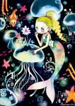 jellyfish garden by majohope