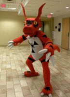 AD 2010 - Digimon Guilmon by The-Emerald-Otter