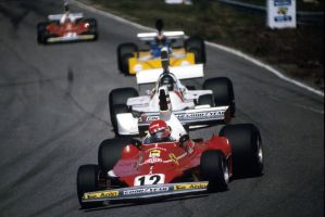 Lauda | Hunt|Watson | Regazzoni (Netherlands 1975) by F1-history