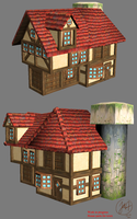 WIP house model by Mad-Owl