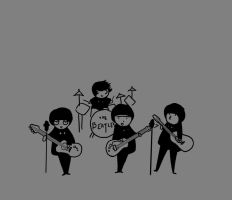 the beatles by niitsvee
