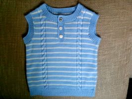 Vest for Boy Toddler by ToveAnita