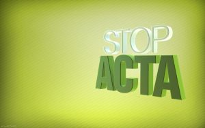 Stop ACTA Green by Snakesan
