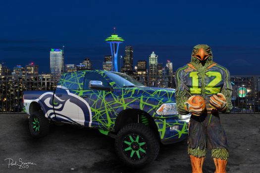 Seahawks 12th Man by SilentMobster42