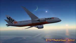 A Jet Beyond the Star by B737TheAirliner