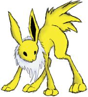 Puffed Jolteon by Goggalor