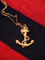 Anchor Necklace by candymonsters