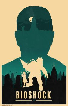 Bioshock poster by billpyle