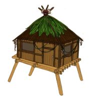 Oulou's Hut Concept by Teh-Scotty