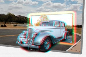 anaglyph 2: blast from the past by Luc14n