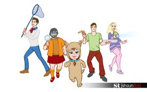 SOURCEFED Scooby Gang by shaunriaz
