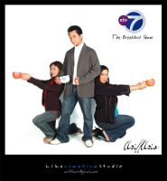 the breakfast show on ntv7 -8 by Cally83