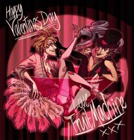 Valentines Burlesque by Mimi-Evelyn