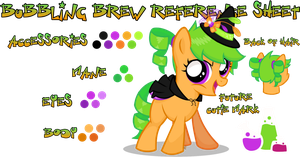 Bubbling Brew Reference Sheet by equinepalette