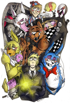 Five Nights At Freddys 2 by BlasticHeart