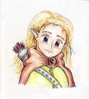 Little Legolas by VisAnastasis