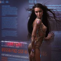 CYBERATONICA. CODE. Close Up by Vitaly-Sokol