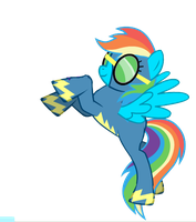 rainbow dash wonderboltvector2 by tunouno