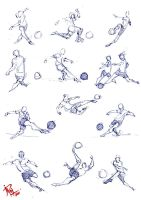 30 seconds ball pen sketches by mashachruah
