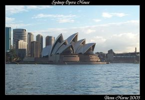 Sydney Opera House by Paintrain