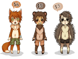 Adoptables - SOLD by pearsfears