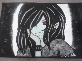 Marceline The Vampire Queen Painting by katlovesanime