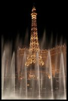 Eiffel Tower at Las Vegas by alexcampos