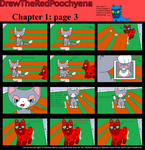 DTRP Chapter 1 Page 3 by DrewTheRedPoochyena