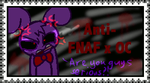Anti-FNAF x Oc stamp by Bonnie-Wabbit