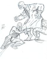 The Amazing Spider-Man vs. The Lizard by GreenMind-Dead