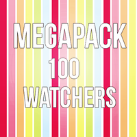 +Megapack 100 watchers by GetOutTheFloor