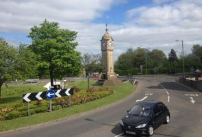 Clock Tower Roundabout by F16CrewChief