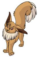 ...pogheys... Eevee by Rainbow-Cemetery