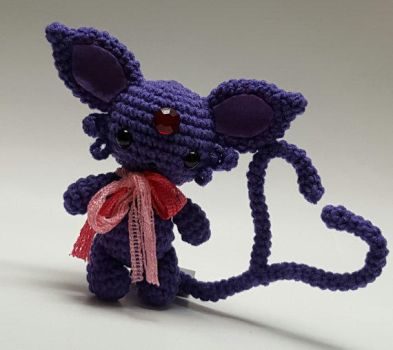 Espeon chibi doll by Tia-tony