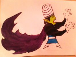 Vincent as Mojo Jojo by MerlinTheeMagical