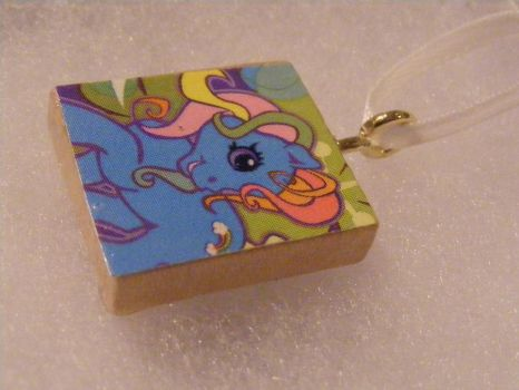 mylittlepony pendant by dimplegirldesigns