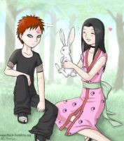 Gaara and Haku? Yes please. by hellena