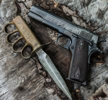 A Deadly Pair - World War I by spaxspore