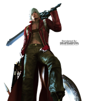 Devil May Cry Render by DrArtemisFowl