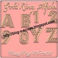 Bizee_Gold Ring Alpha by Bizee1